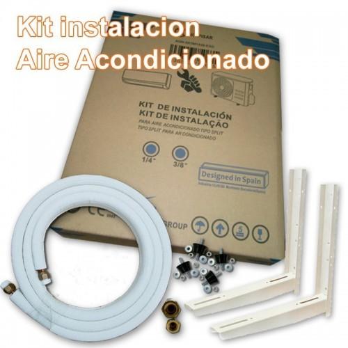 """Kit instalacion Aire Acondicionado 1/4""""-1/2"""" de 5 metros"""